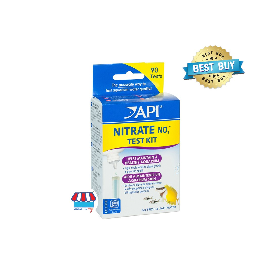 API Nitrate NO3 Test Kit -90 Tests (Expired: 11/2021)