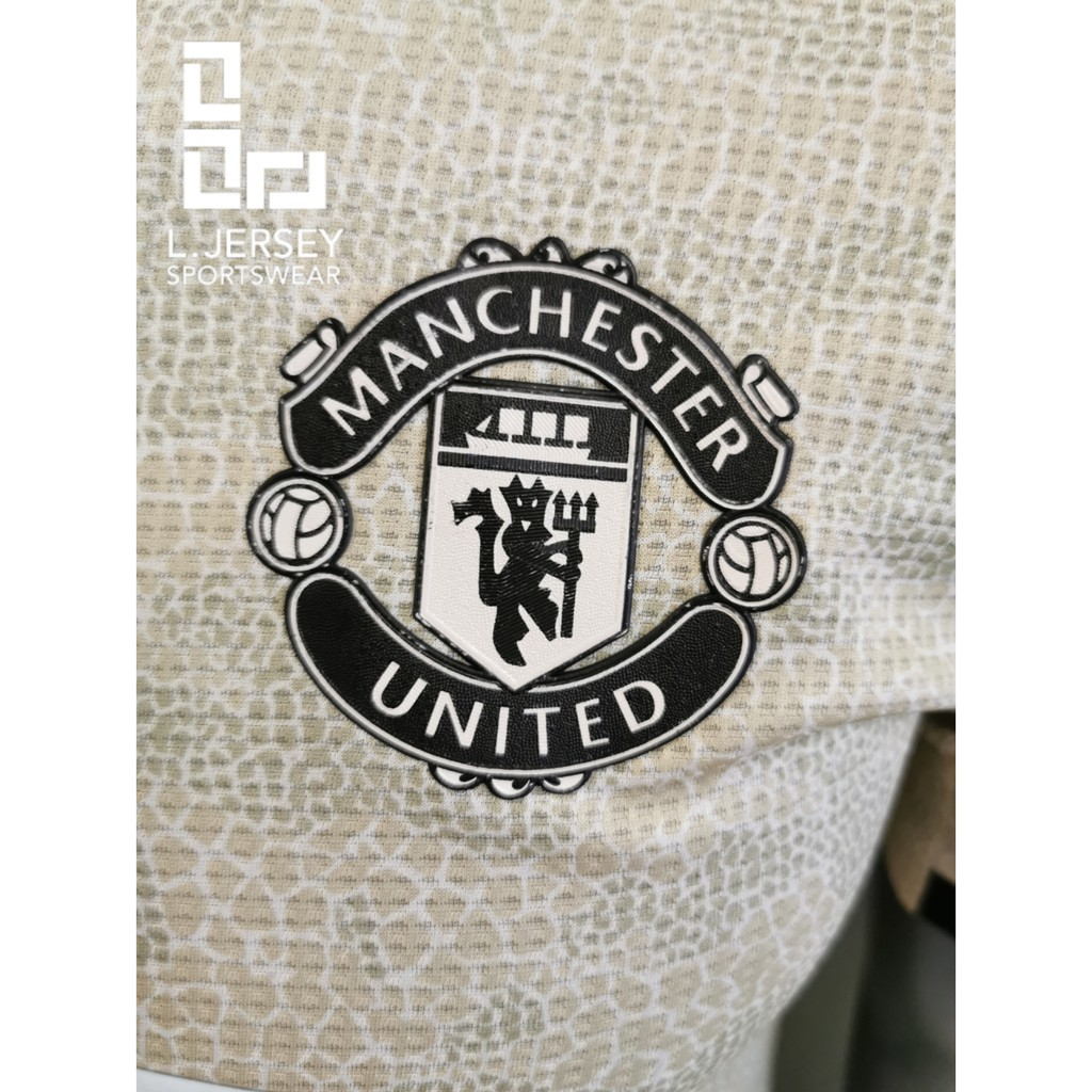 Manchester United Men Away Season 19/20 CLIMACHILL Player Jersey