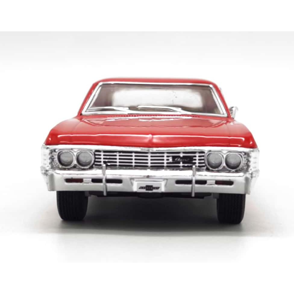 KINSMART 1:32-1:36 METAL DIE CAST 1967 CHEVROLET IMPALA CAR MODEL COLLECTION KT5418W