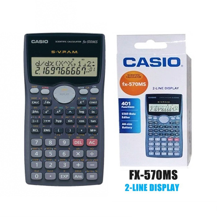 MALAYSIA- KALKULATOR Examination Calculator Science MS-570