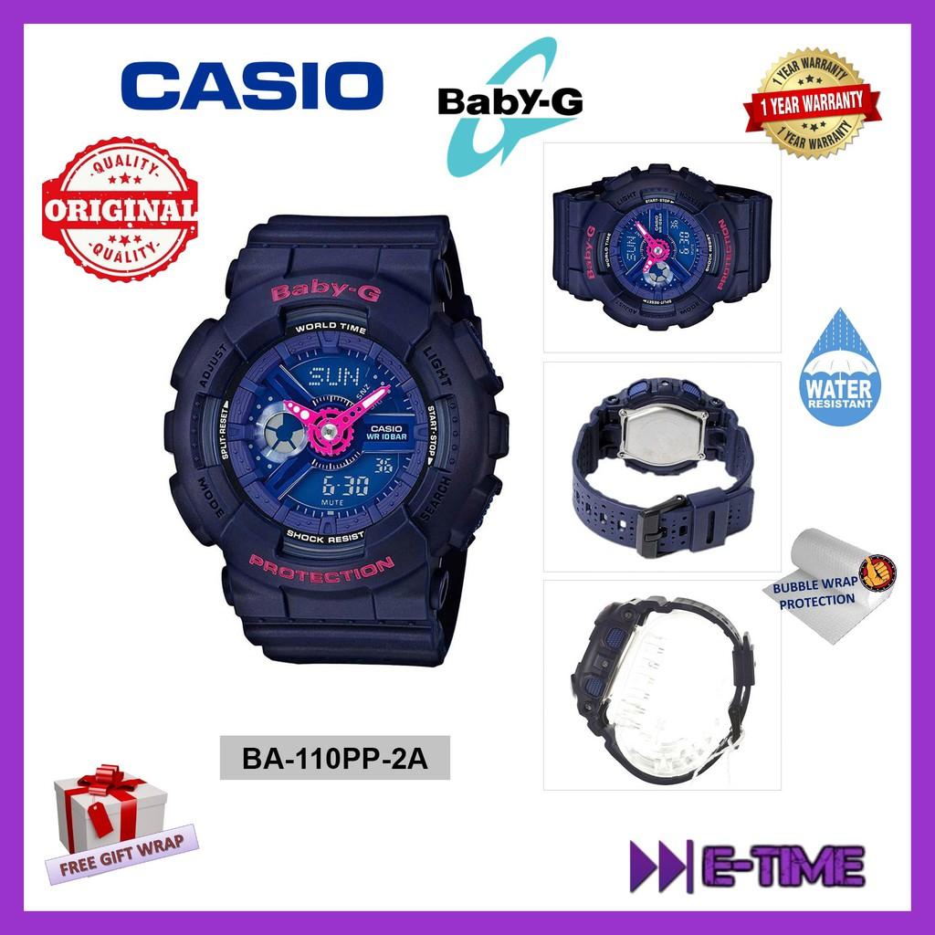 Casio Original Baby G Bgs 100gs 7a Step Tracker Shopee Malaysia Ba 112 4a Pink