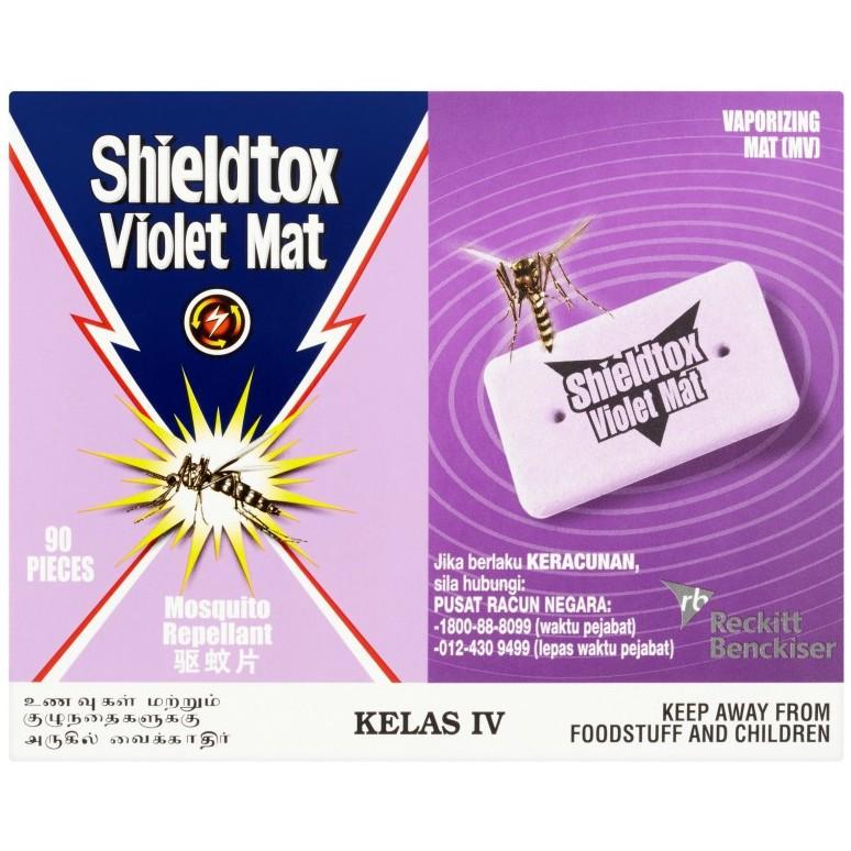 Shieldtox Violet Mat Mosquito Repellant (90 Pcs/84g)