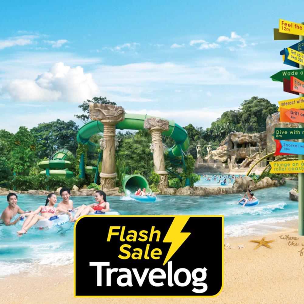 Singapore Adventure Cove Waterpark Admission Ticket Shopee Malaysia Et Tiket Park