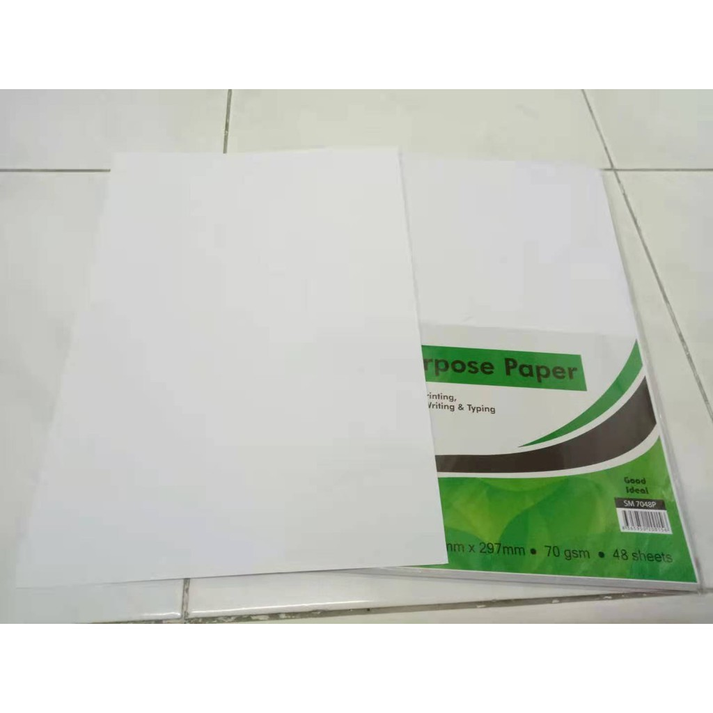 A4 Multi Purpose Paper 70gsm 48 sheets/pack