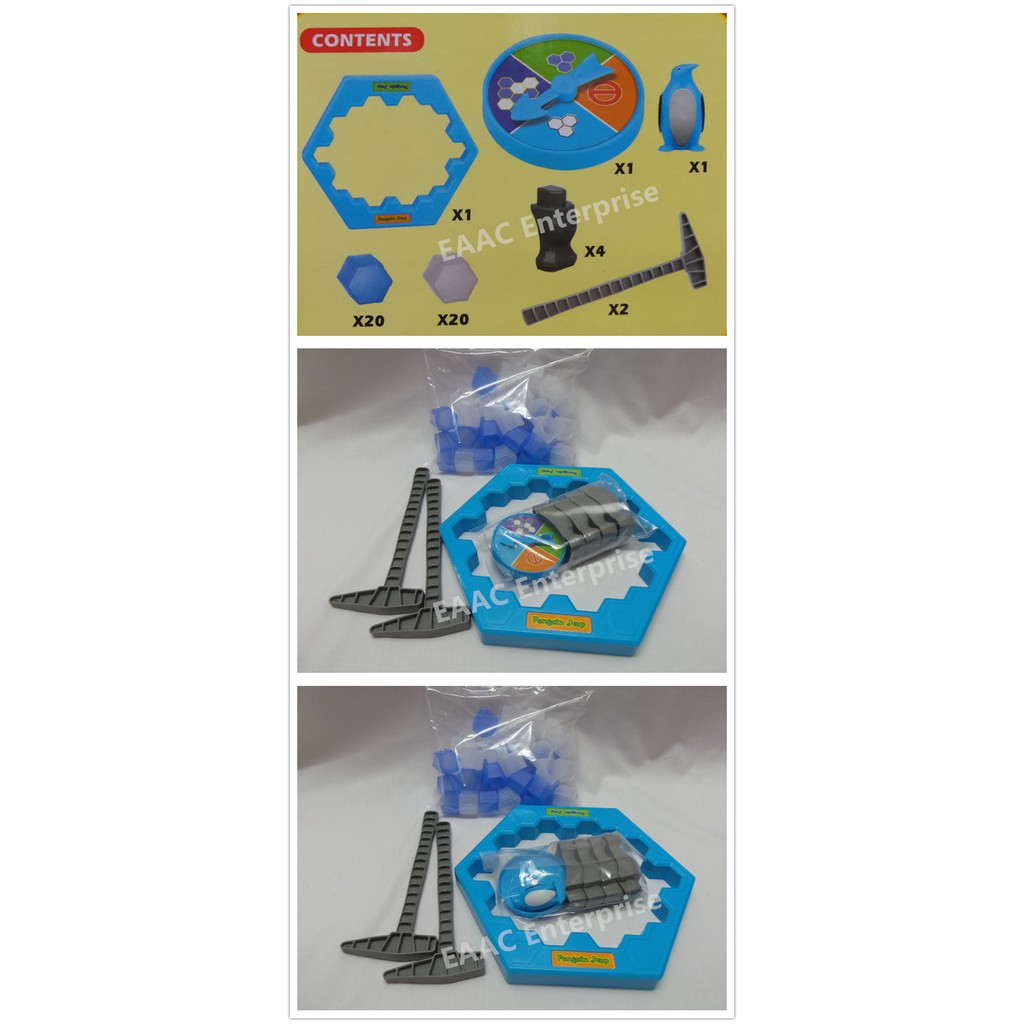 Penguin Trap Funny Game Knock the Ice