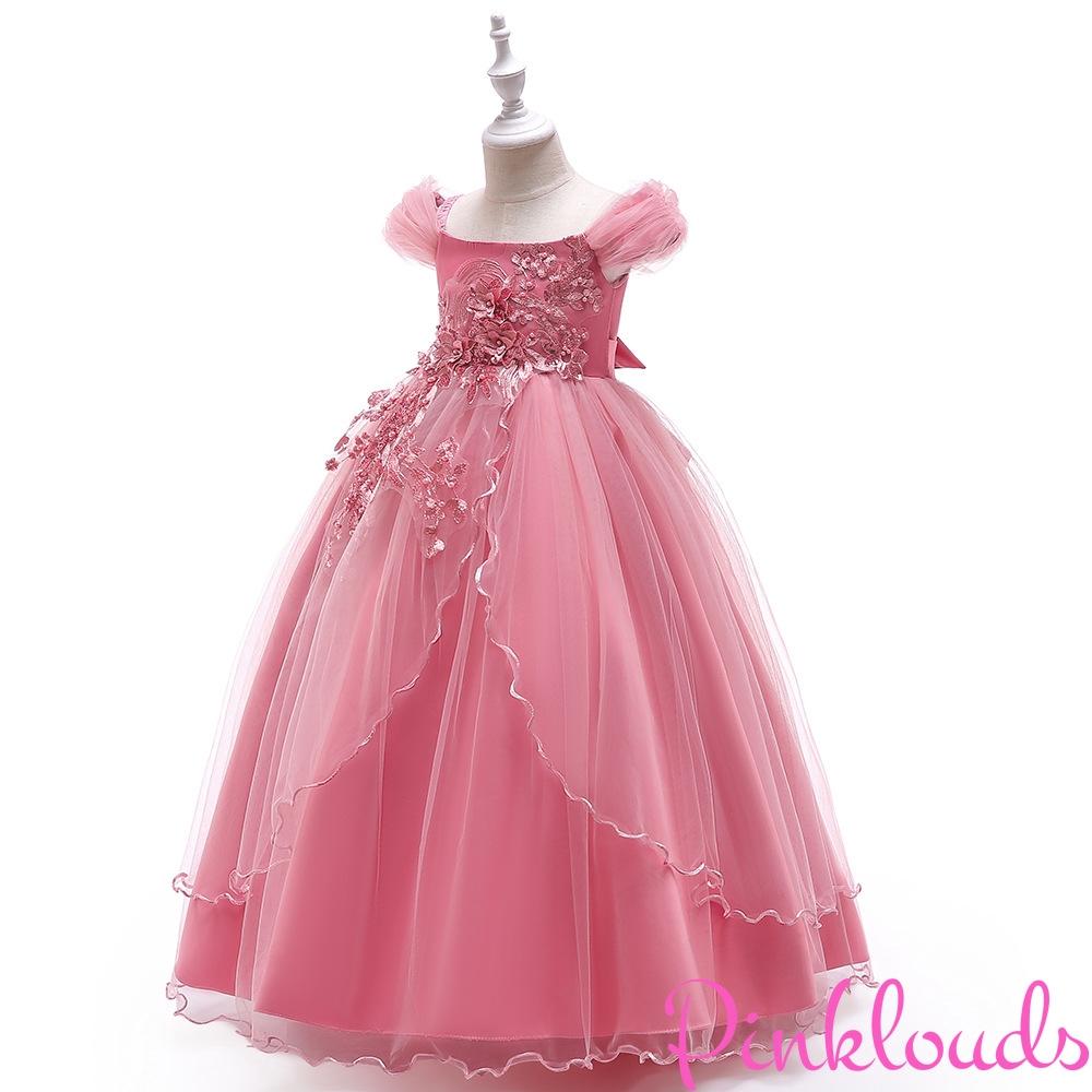 Flower Girl Baby Sequin Princess Tutu Dress Party Wedding Birthday Gown Headband