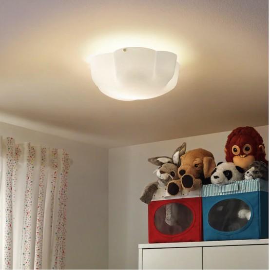 Yllesta Ceiling Lamp White Baby Room