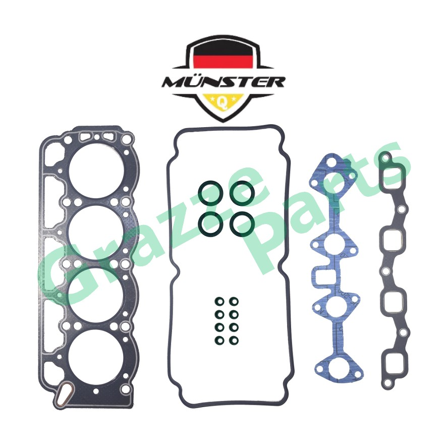 Münster Head Top Set Gasket 04112-28013A for Toyota Corona TT141 3T Engine (New Type)