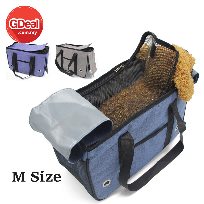 GDeal Fully Enclosed Pet Travel Portable Dog Outing Bag Beg Anjing M Size بيڬ انجيڠ