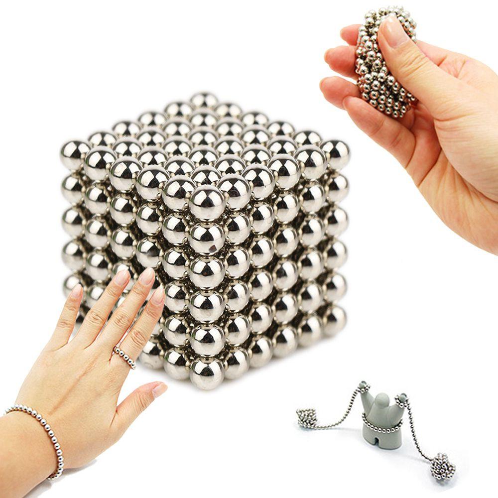 216 Pcs Cube Magnetic Balls Magic Puzzle Magnet Block Cubo Magico Buckyballs Neocube Toys 216pcs 3mm Education Shopee Malaysia