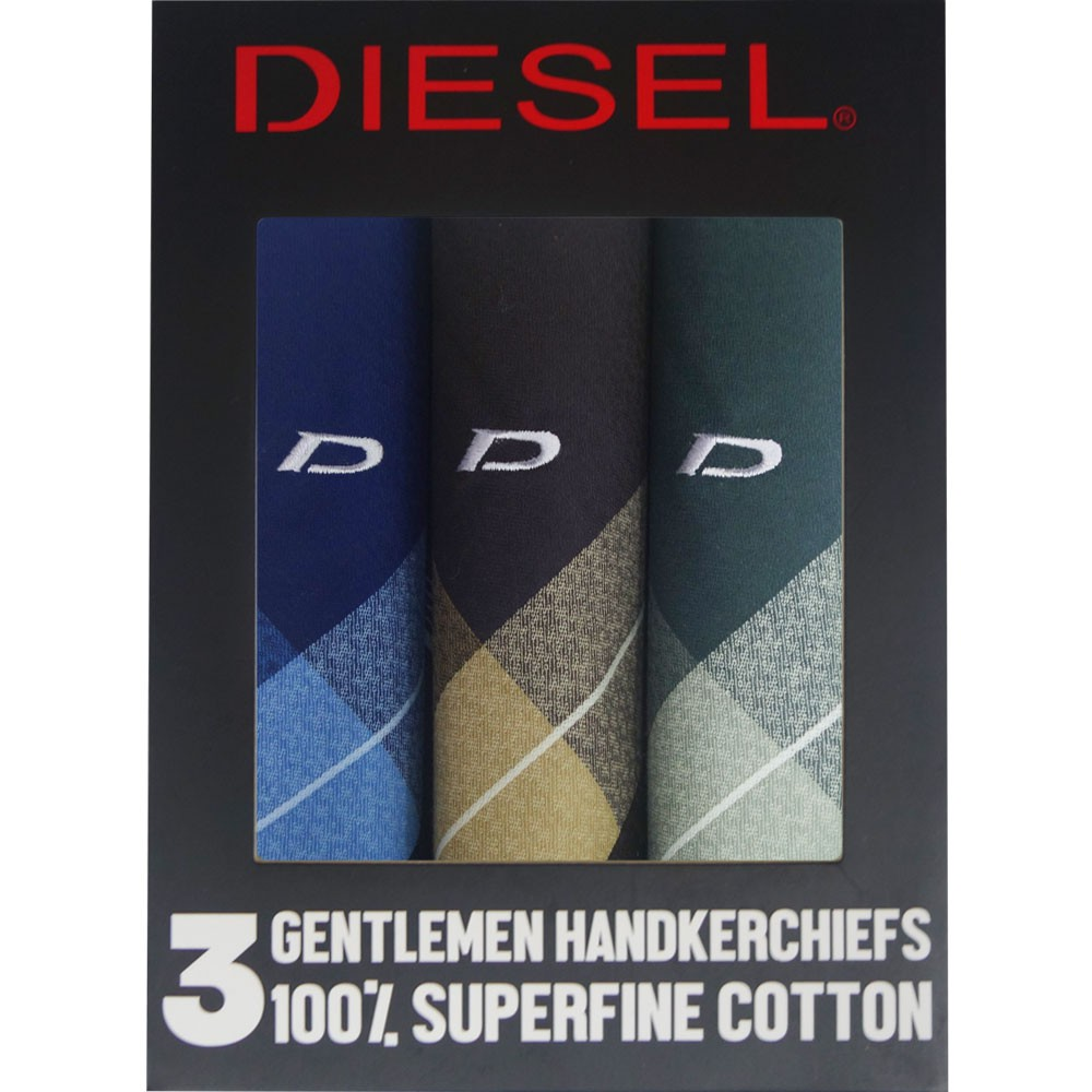 Diesel - 3 PCS HANDKY (DHN-01) Assorted Color