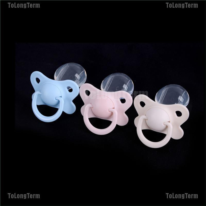 New Adult Nibbler Pacifier Feeding Nipples Adult Sized Design Back Cover Gift P1