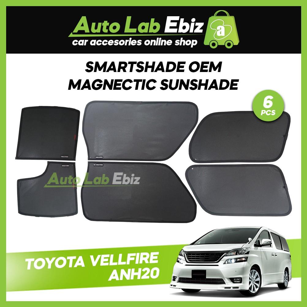 SmartShade Toyota Vellfire ANH20 (6pcs)