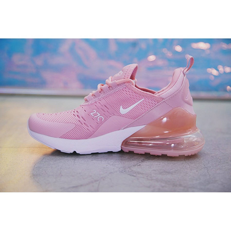 size 40 031d8 ce943 Nike Air Max 270 Shoes Women Airmax 27c Running Shoes Jogging Sneakers Pink