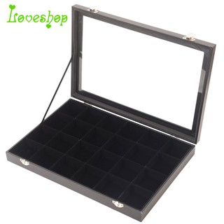 1cf4844c6 Jewelry Display Box Jewelry Tray Holder Casket Storage Organizer Earrings  Ring B | Shopee Malaysia