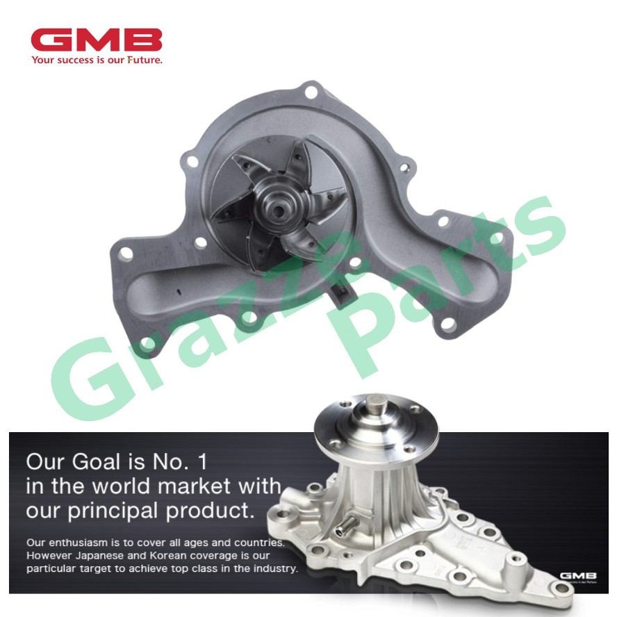 GMB Engine Water Pump GWM-40A for Mitsubishi Pajero V6