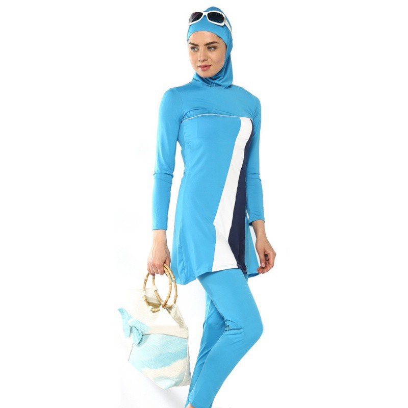 ff107e98d844a ProductImage. ProductImage. Newest Muslim Swimwear Islamic Swimsuit Women  Hijab Swimwear