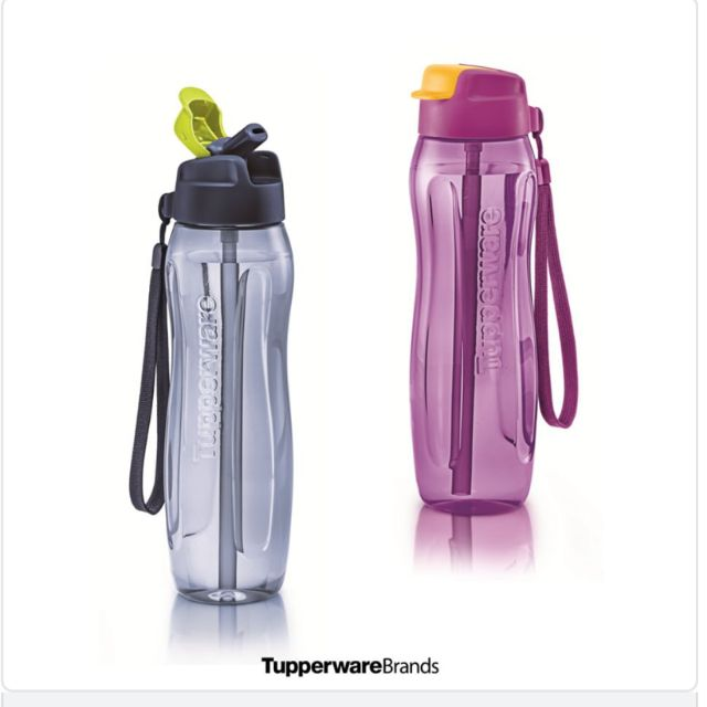 🔥NEW🔥Slim Eco Bottle with Straw (750ml)