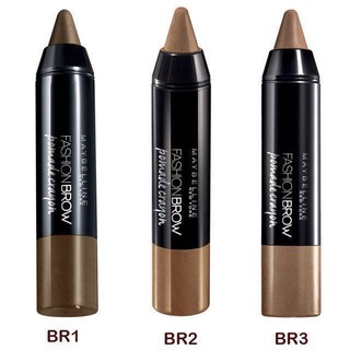 fccb1d70ac8 Maybelline Fashion Eyebrow Pomade Crayon - BR2 | Shopee Malaysia