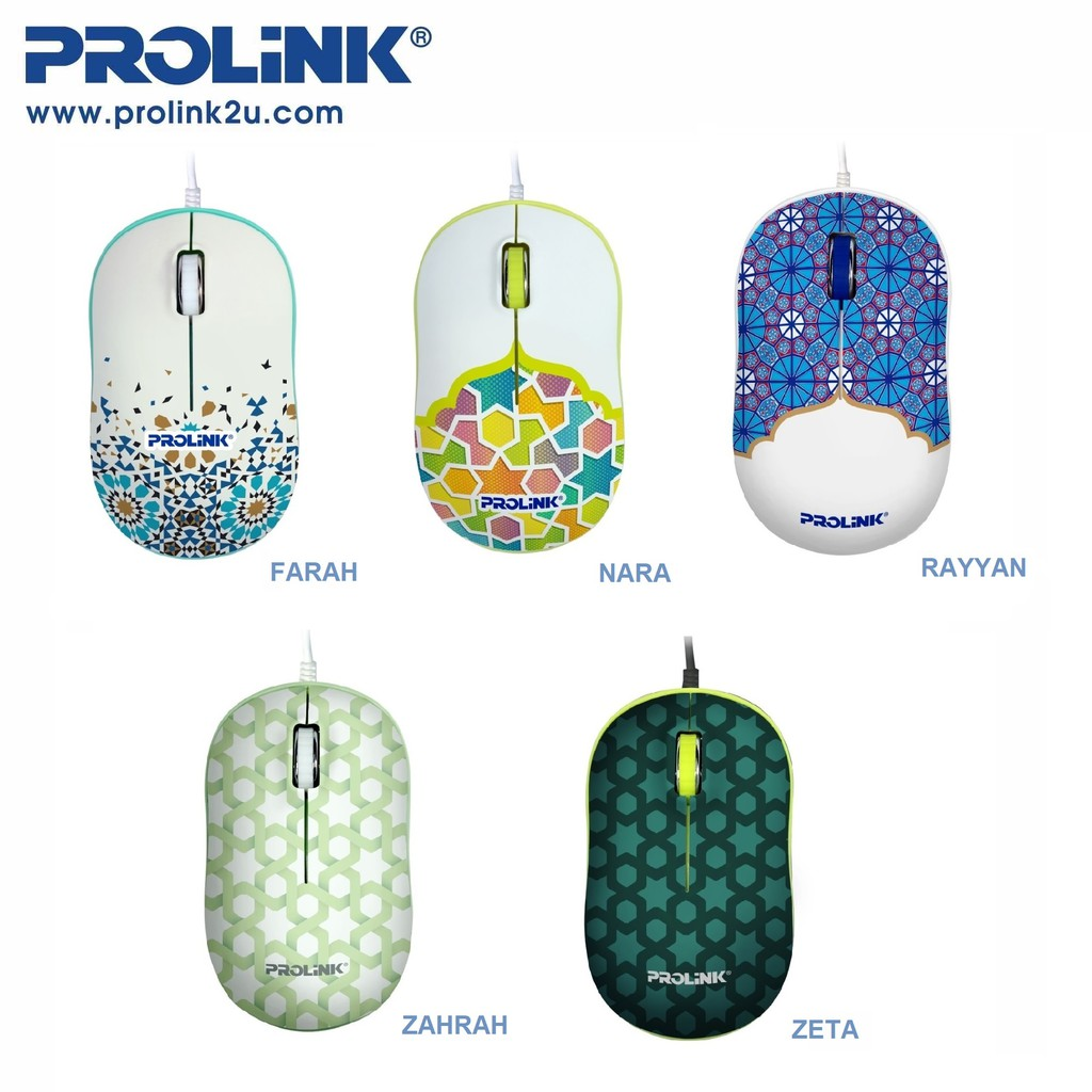 PROLiNK 2019 Limited Edition USB Optical Mouse PMC1006