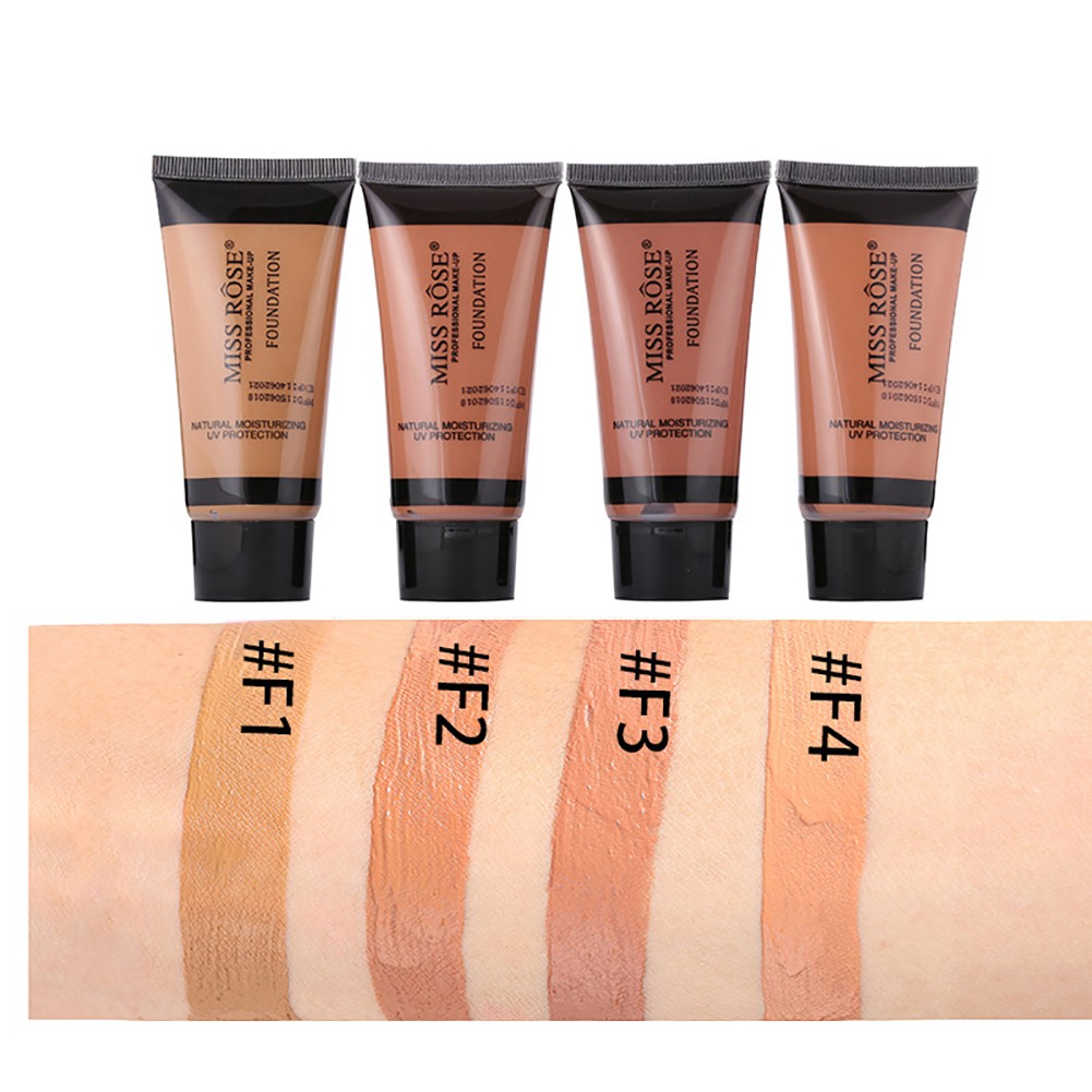 SWEE_Liquid Foundation Concealer Natural Moisturizing Face Base Makeup UV Protection