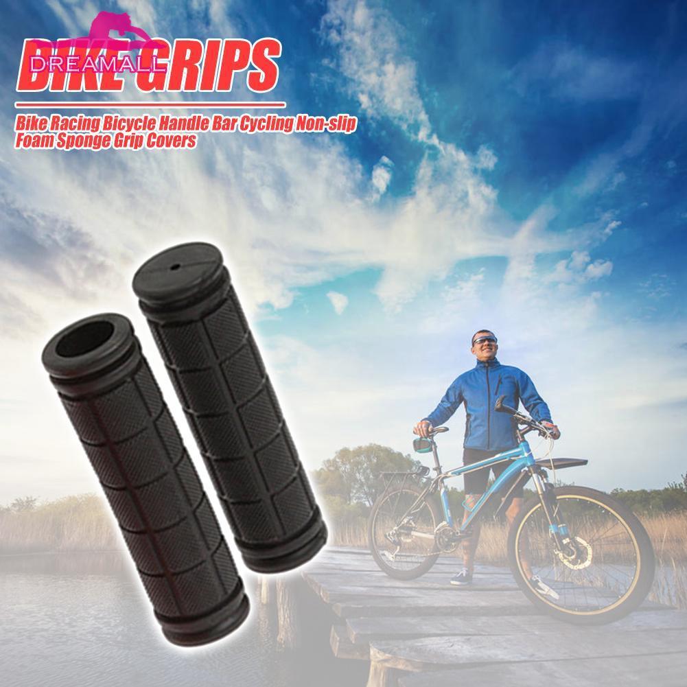 Bike Handle Bar Grips Covers Motorcycle Bicycle Racing Sponge Sweat Foams New
