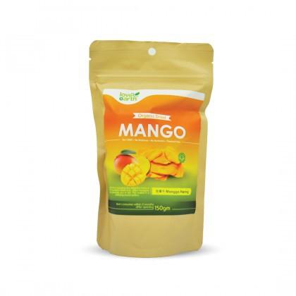 Love Earth Organic Dried Mango 150g 乐儿有机芒果干 150公克 (袋装)