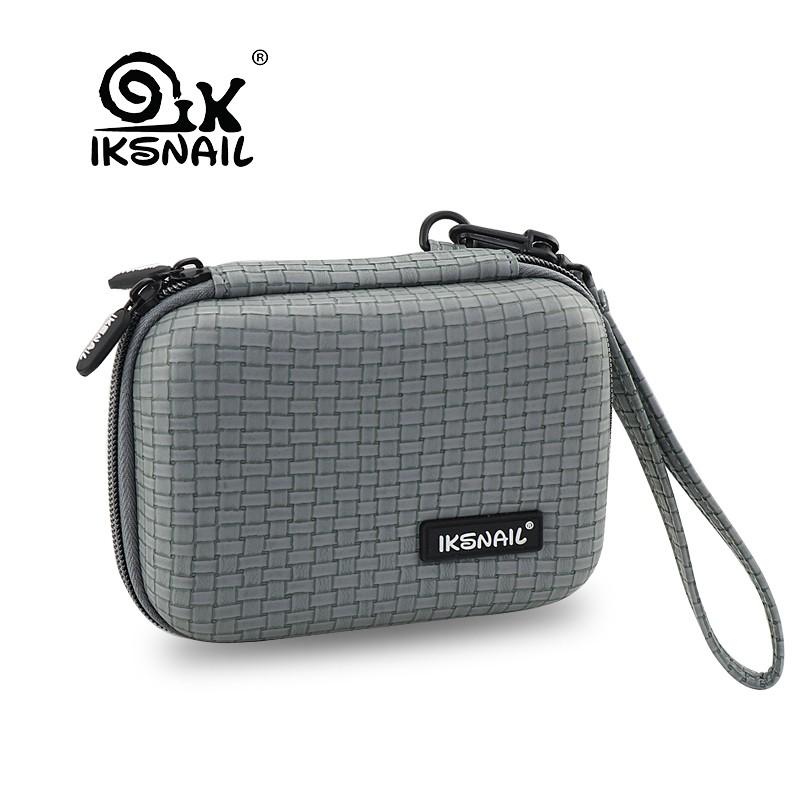 194837496056 IKSNAIL EVA Storage Case Portable Waterproof Headphones Bag