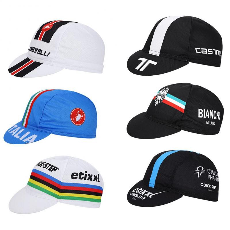 Unisex Bicycle Riding Cycling Cap Suncap Sports Hat Quick Dry Printed Sunhat US