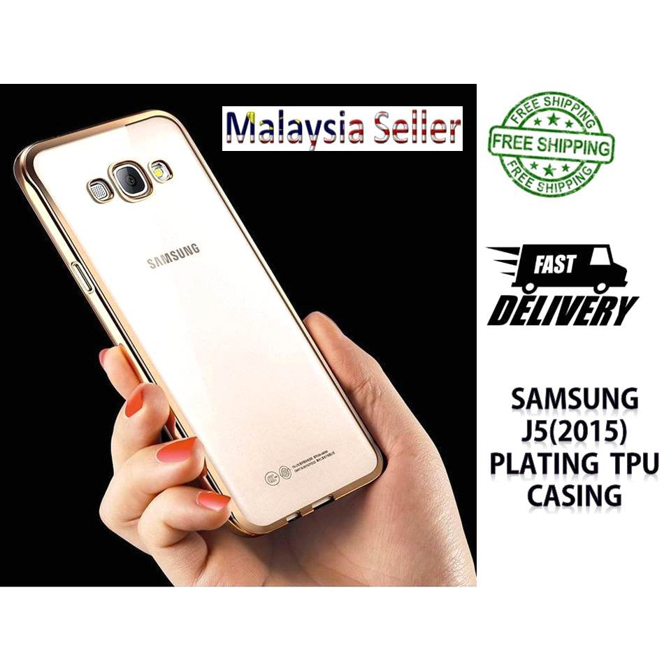 Samsung A5 2015 Case Plating Metal Frame with Mirror Back Cover Hard Case | Shopee Malaysia