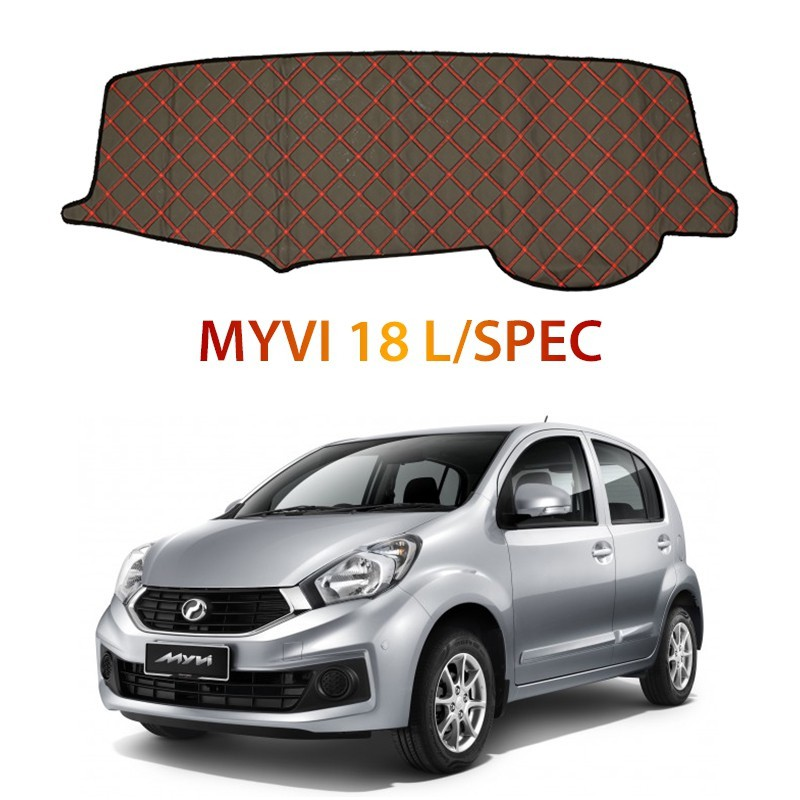 Perodua Myvi 18 L/Spec DAD Non Slip Car Dashboard Cover Dash Mat