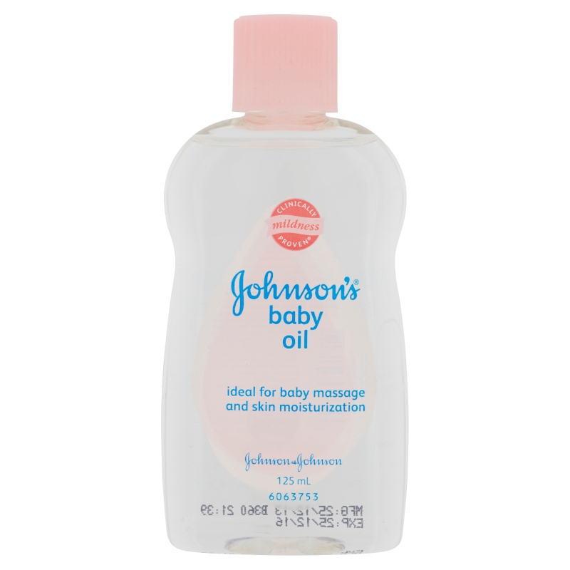 Johnson's Baby Oil (125ml)