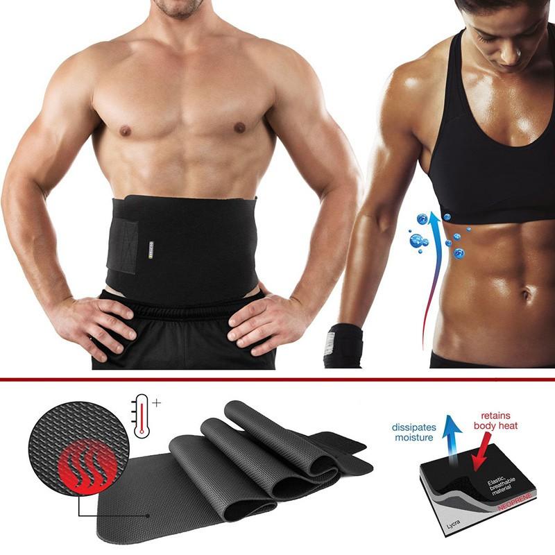 474180523d BOER 7992 Fitness Trainer Body Shaper Waist Trimmer Tummy Slimming Belt