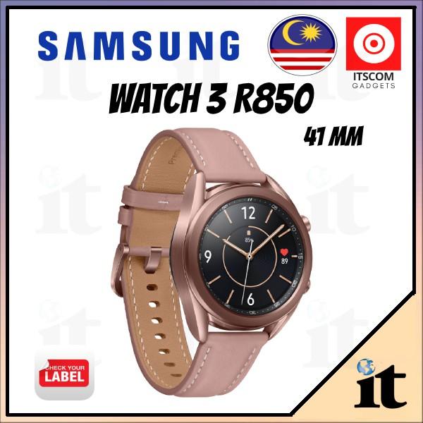 [READY STOCK] Samsung Galaxy Watch 3 Bluetooth Version *R840 (45mm) / R850 (41mm) Smartwatch