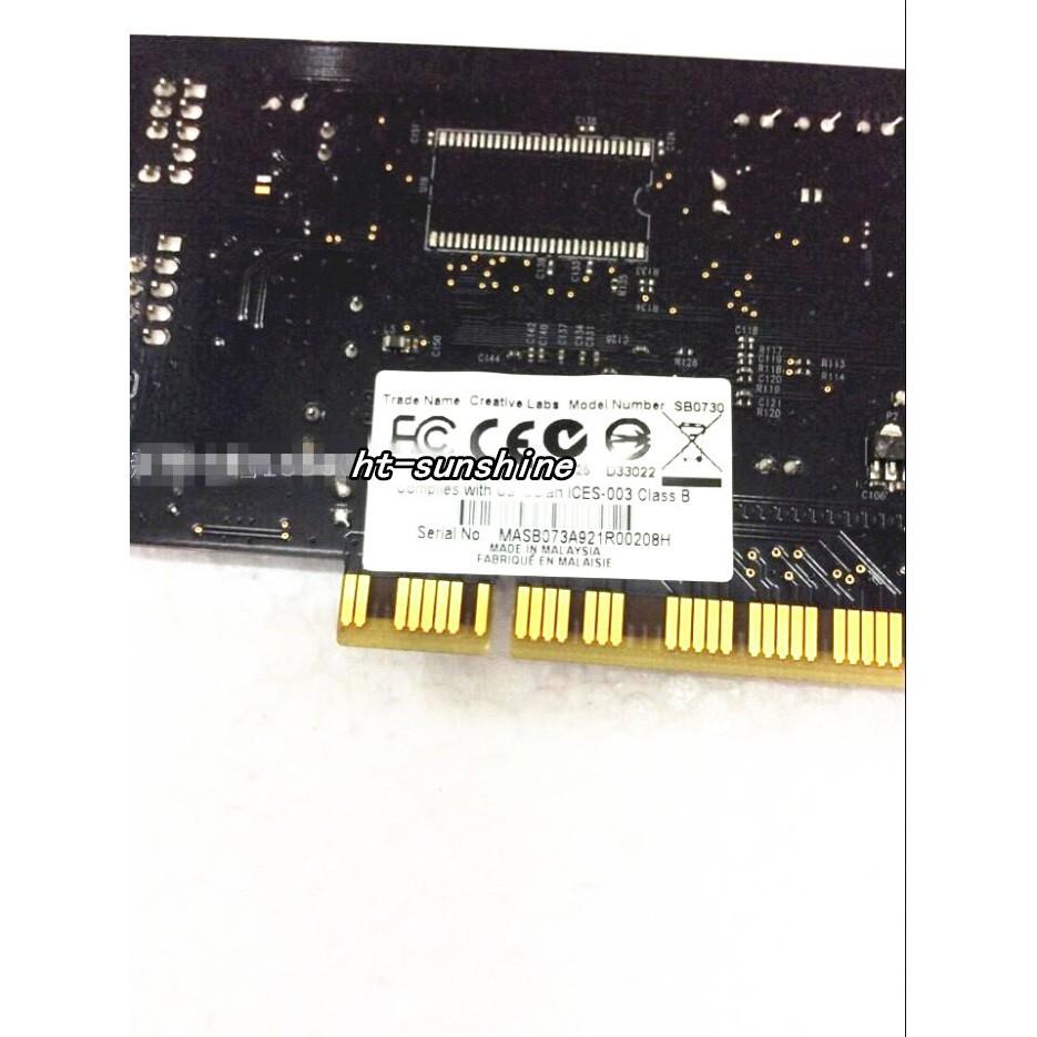 SB0730 Creative Labs Sound Blaster X-Fi Internal PCI Sound Card