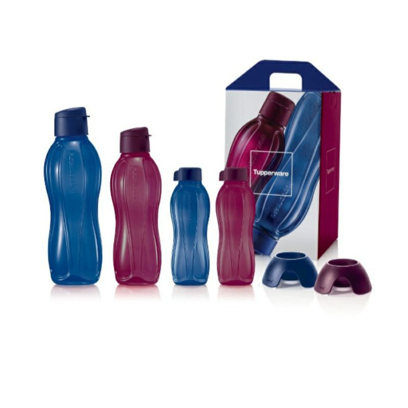 Botol Air The Sapphire Eco Collection Water Bottle Tupperware  BPA Free Colour Safe