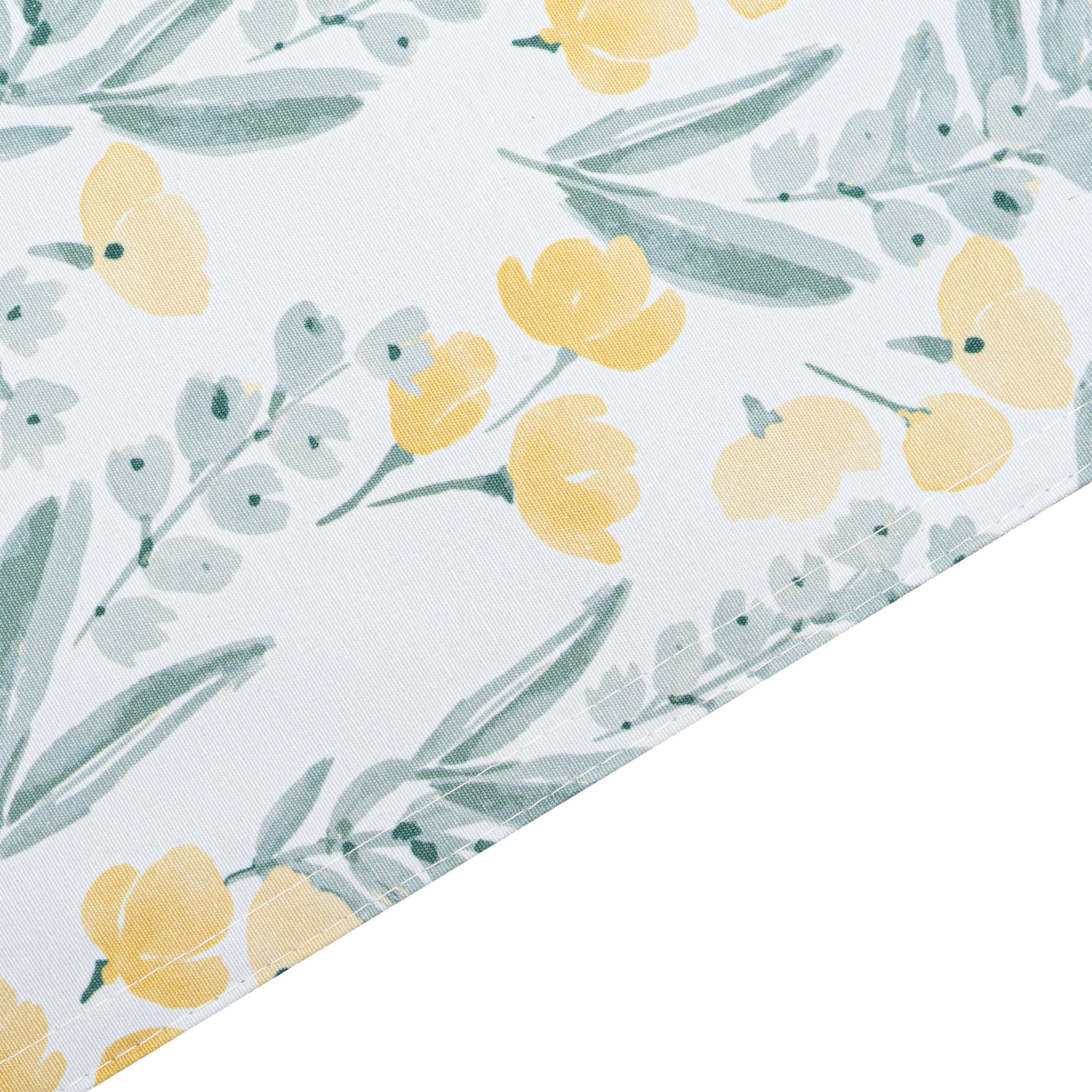 Flora Printed Rectangle Placemats/Table Mats With Solid Lining 30x45cm. Polycotton. Multi-Color (Set Of 2,4 Or 6)