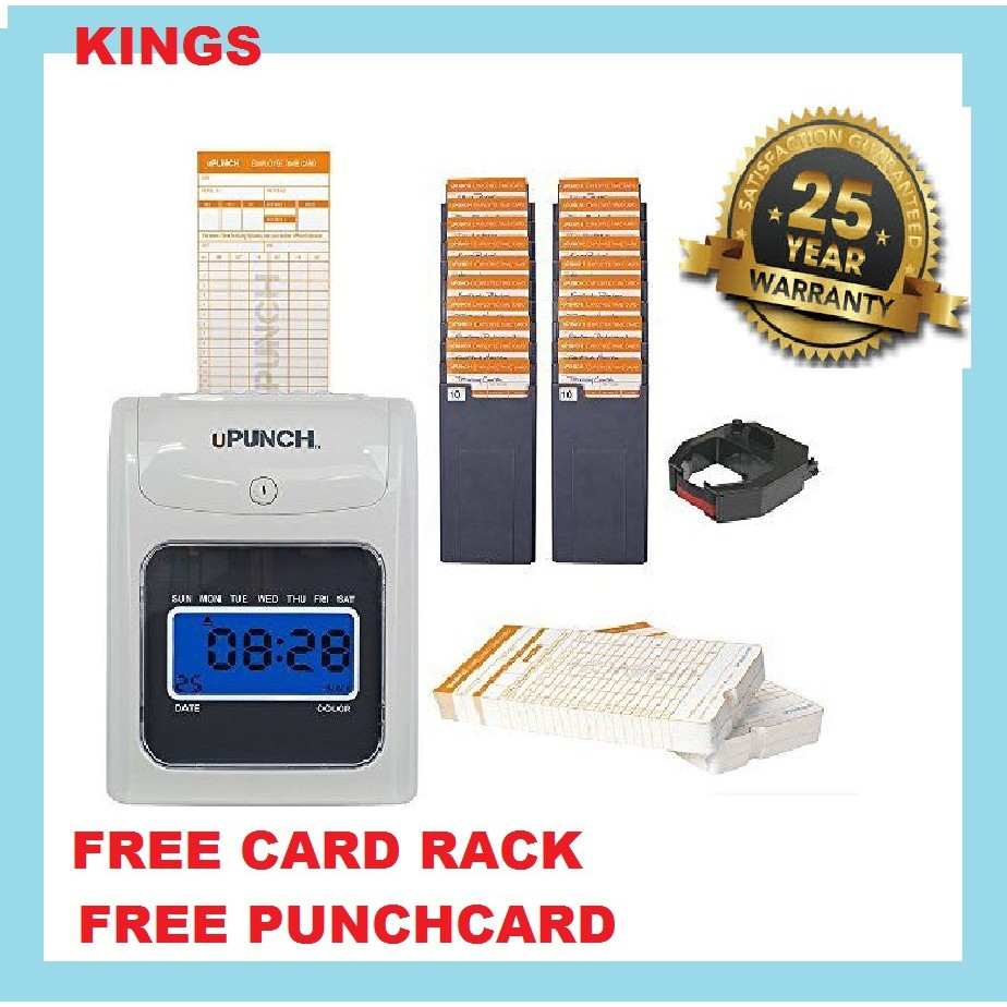 ( SPECIAL OFFER) -TIME RECORDER PUNCH CARD MACHINE