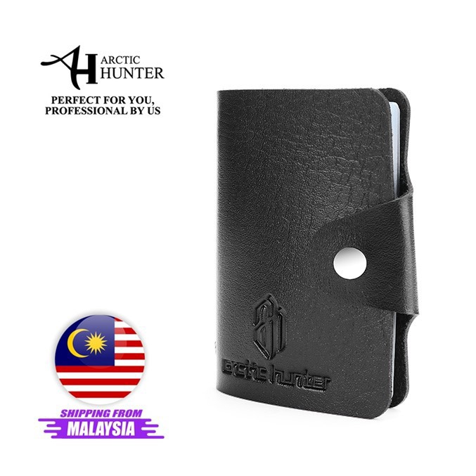 Arctic Hunter Card Holder 10 slots Men Wallet Credit Card Genuine Leather Quality