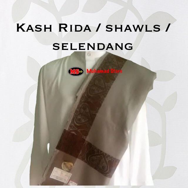 Kash Rida / shawls /selendang