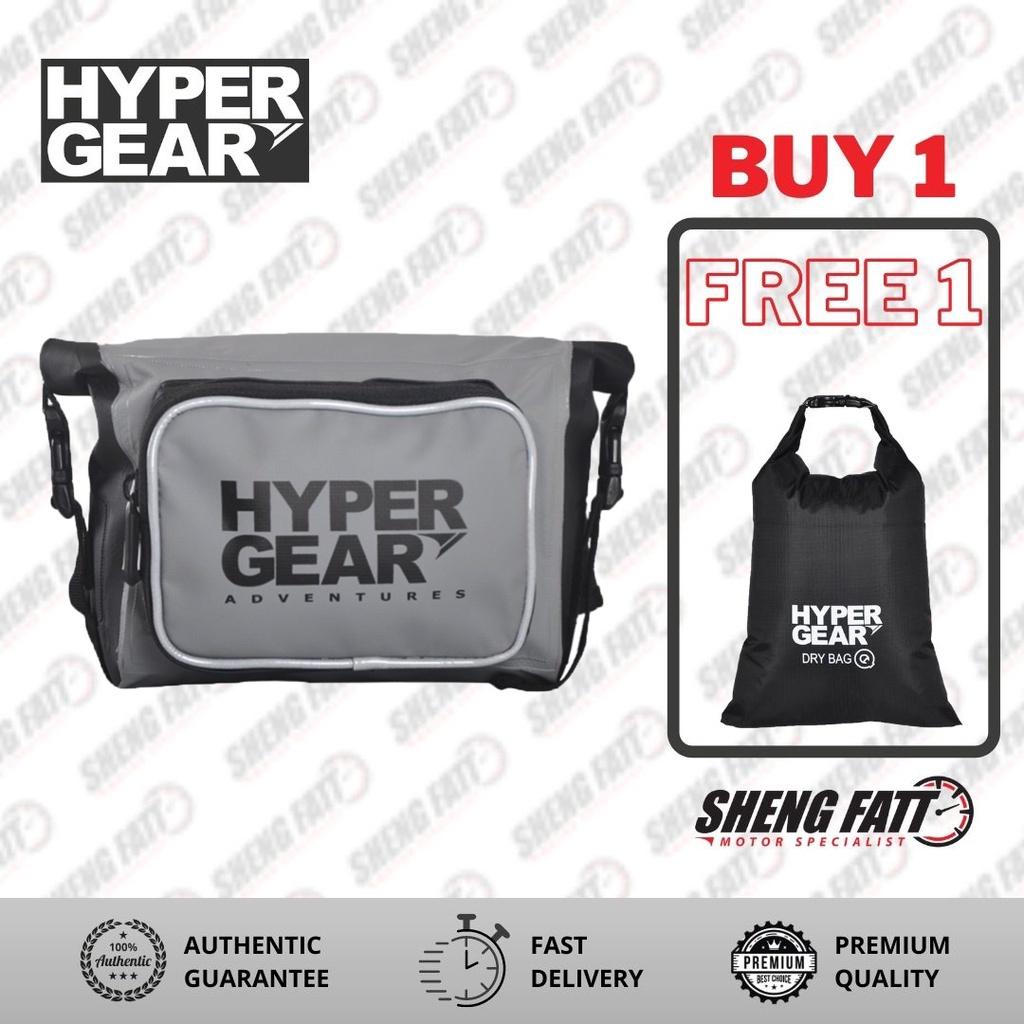 Hypergear Waist Pouch M Motorsports (Grey)