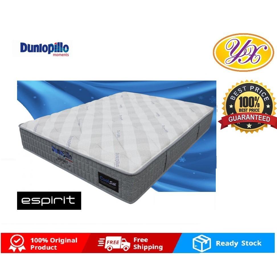 Uk Dunlopillo Coolsilk Espirit Talalay Latex Comfort Layer 3 Zones King Queen Pocketed Spring Mattress Shopee Malaysia