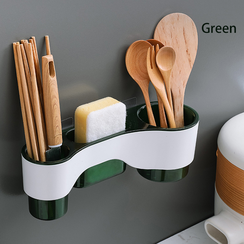 GDeal Bathroom Drain Rack Toothbrush Holder Kitchen Hanging Suction Cup Drain Rack Chopstick Holder