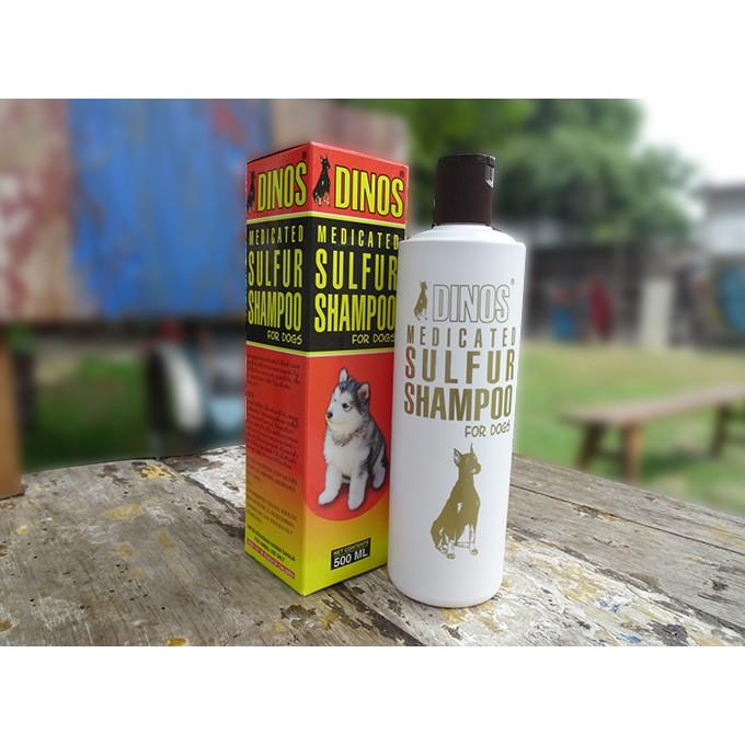 Dinos Medicated Sulfur Shampoo - 500ml