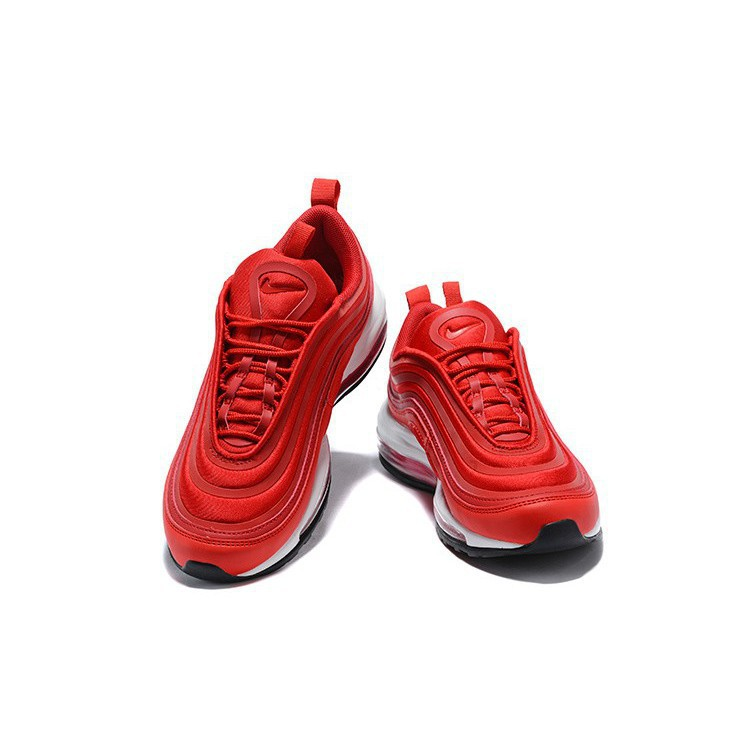 WomenMen Nike Air Max 97 Ultra 17 Gym RedSpeed Red Black Authentic