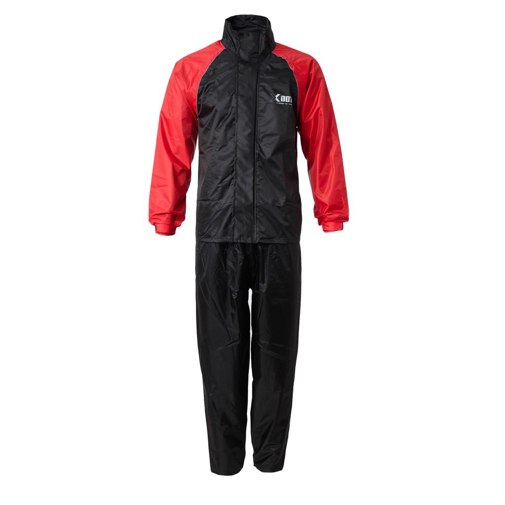 Raincoat Motorcycle X-DOT RC03 Rain-Tech (RED)