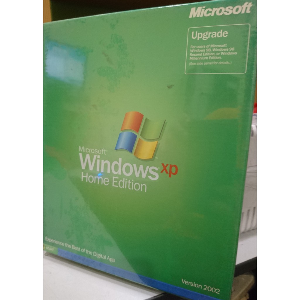 ORIGINAL MICROSOFT WINDOWS XP (Retail)