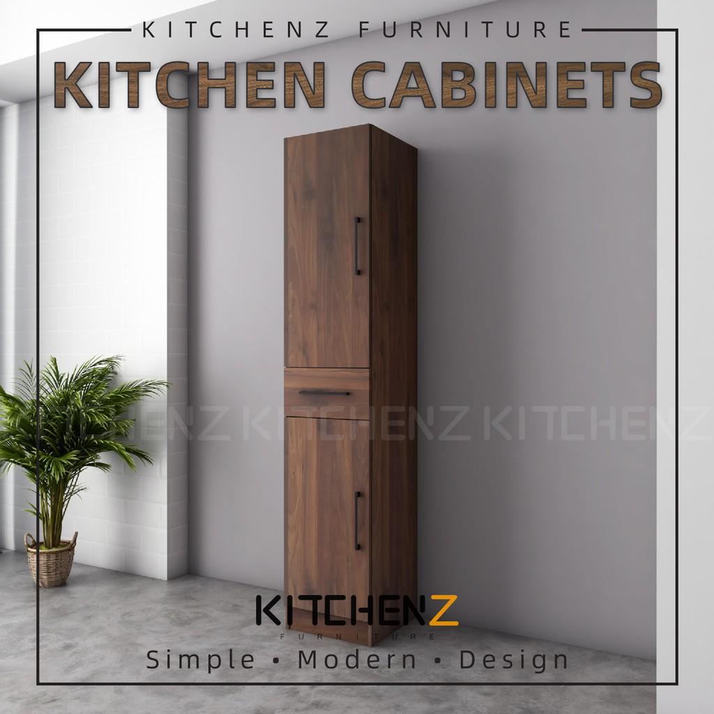 KitchenZ Ventura Series Kitchen Cabinets Tall Unit  / Kitchen Storage - HMZ-KTC-MFC2040-WN