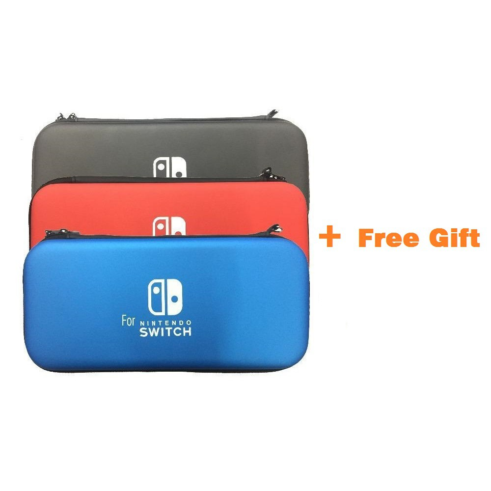 Nintendo Switch Deluxe Travel Hard Case with *Free Gift
