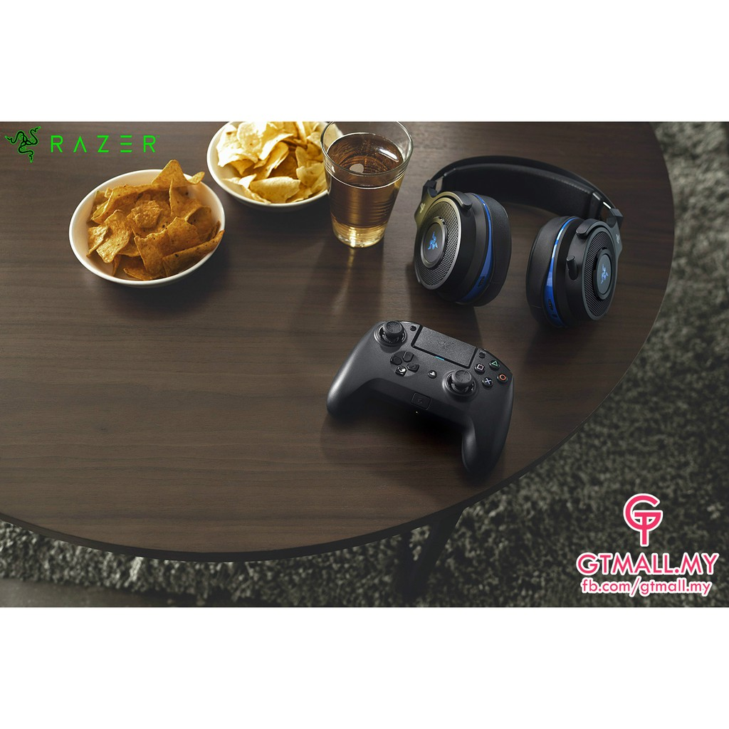 Razer Raiju Tournament Edition (Bluetooth/Wired Connection, PS4/PC  Compatible)